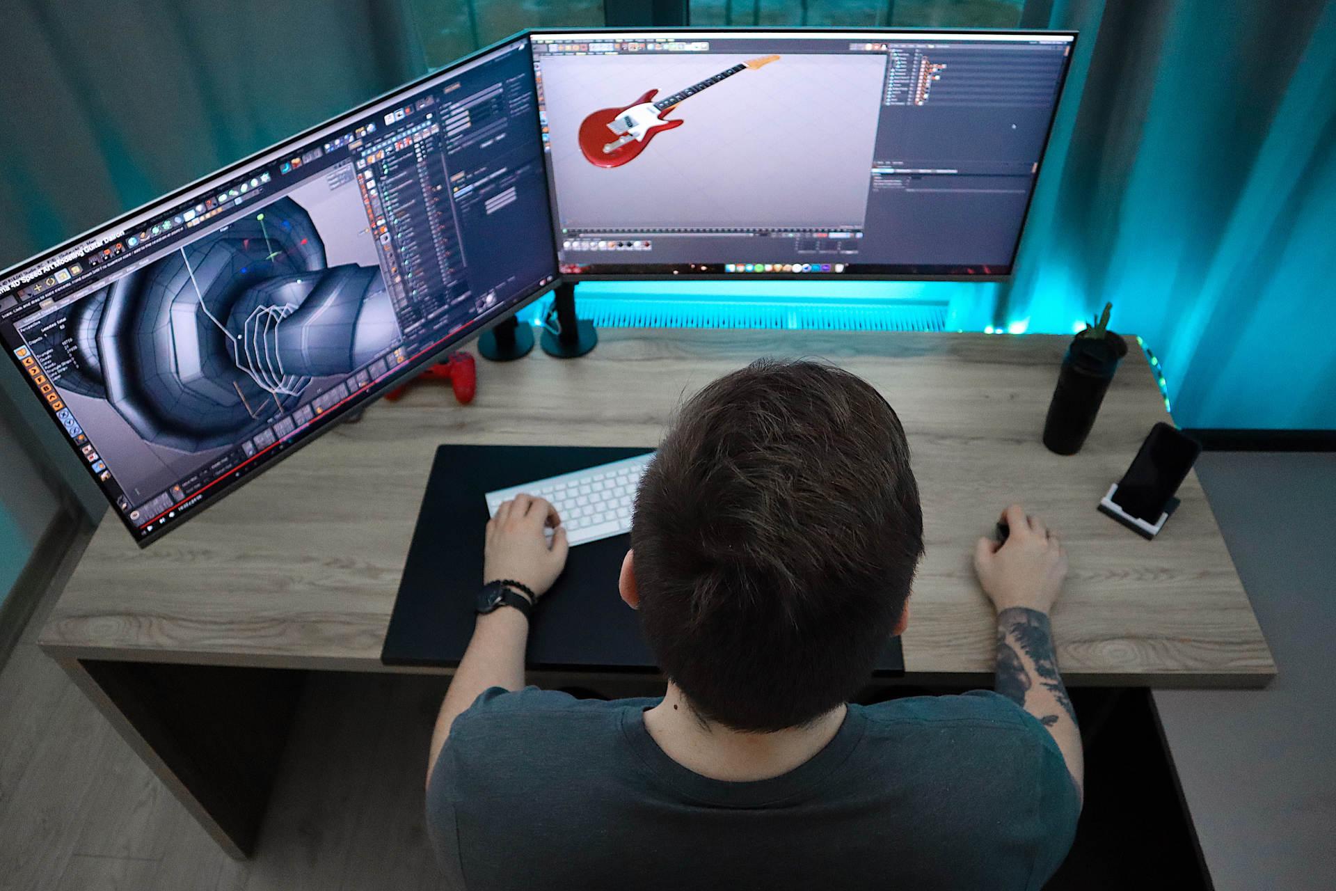 Wie man ein Videospiel Kunstdesigner wird